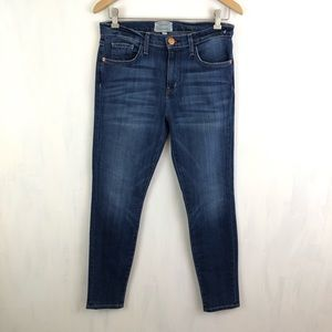 Current/Elliott High Waist Ankle Skinny Atwater 29